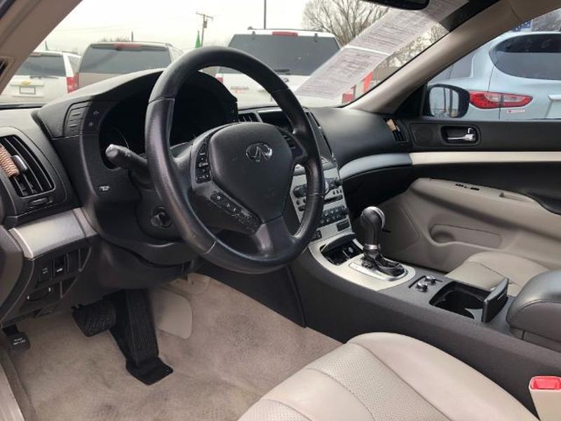 Infiniti G Sedan 2009 price $0