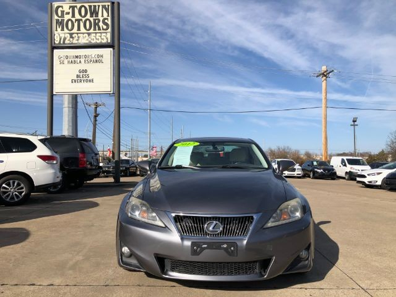 Lexus IS 2012 price $0