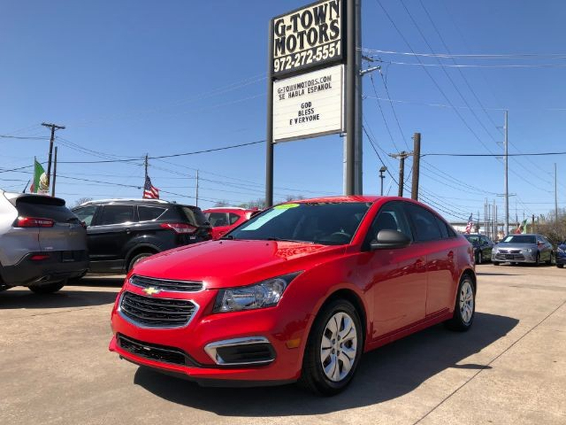 Chevrolet Cruze Limited 2016 price $0