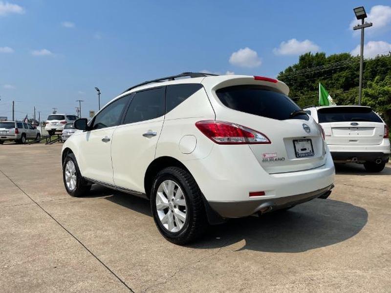 Nissan Murano 2012 price $0