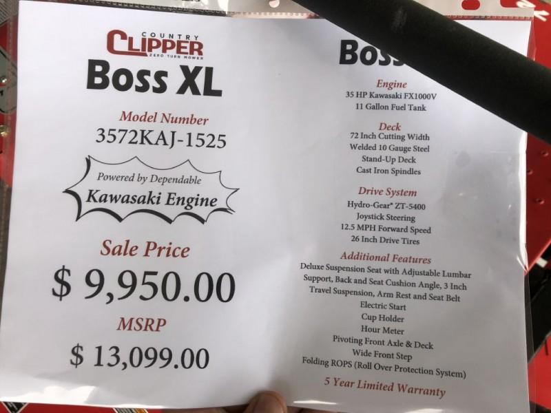 - BOSS 2019 price $8,950