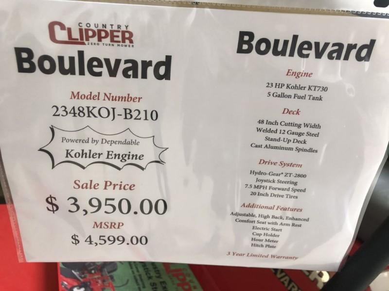 - BOULEVARD 2019 price