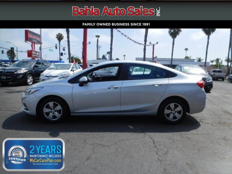 Chevrolet Cruze 2017 price $11,988
