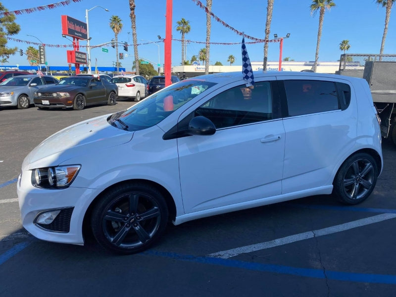 Chevrolet Sonic 2016 price $8,988
