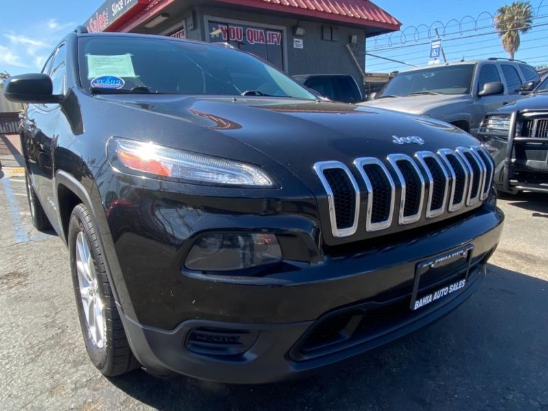 Jeep Cherokee 2016 price $14,988