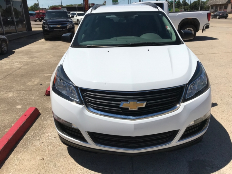 Chevrolet Traverse 2017 price $15,675