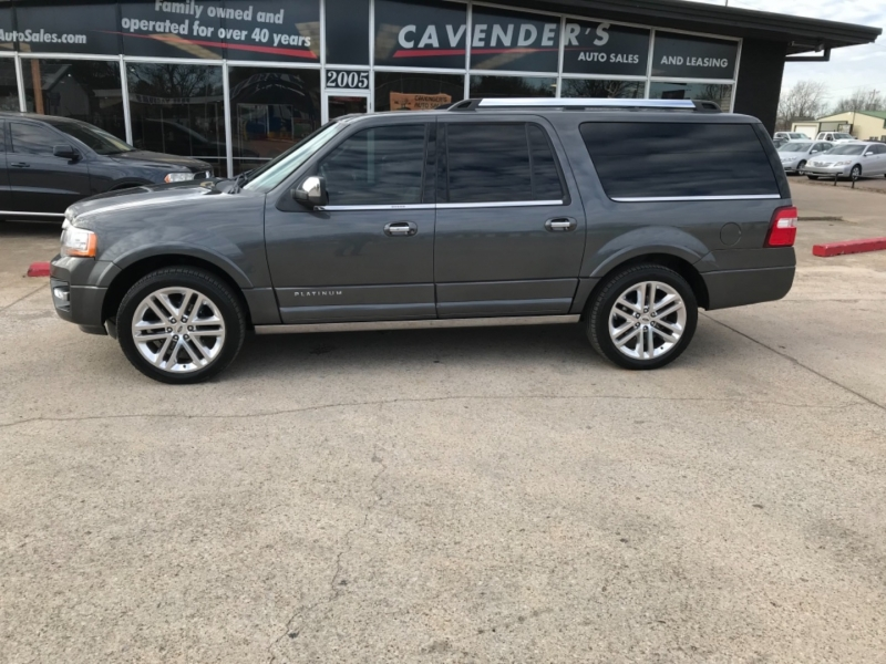 Ford Expedition EL 2017 price $28,985