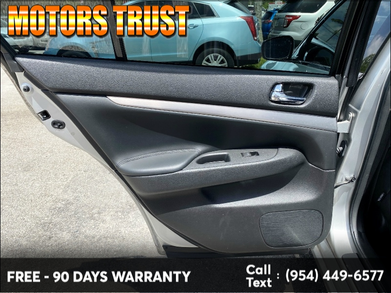 Infiniti G25 Sedan 2012 price $6,599