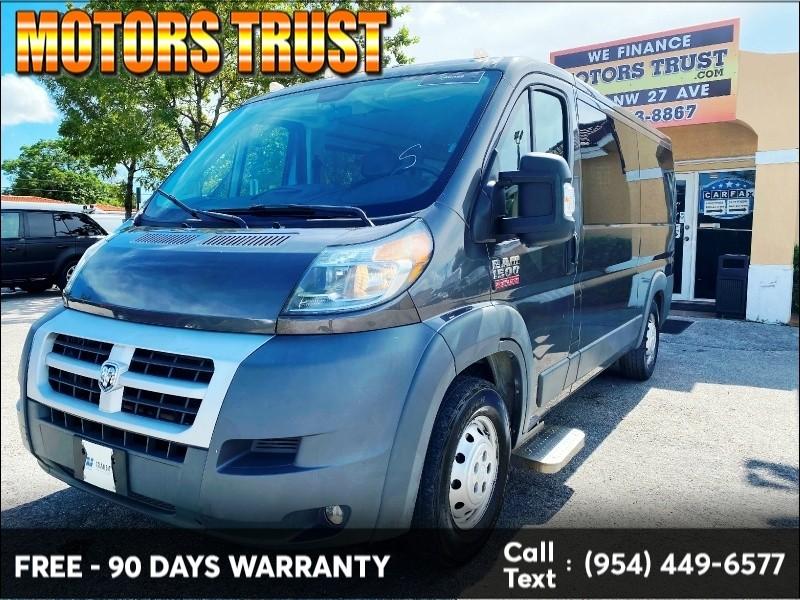 RAM ProMaster Cargo Van 2014 price $16,399
