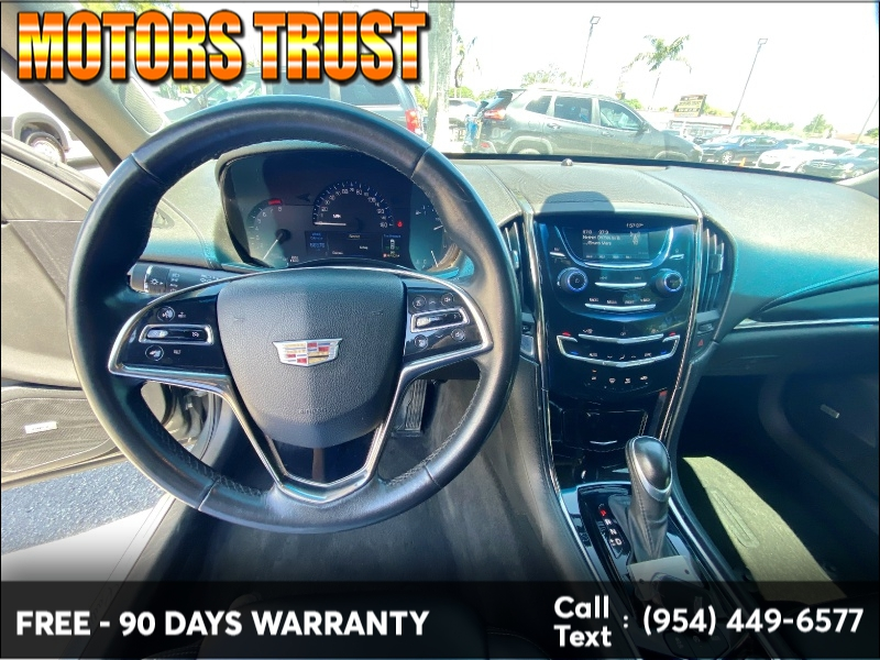 Cadillac ATS Sedan 2016 price $11,999
