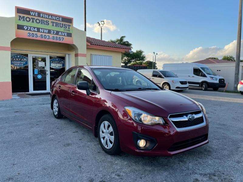 Subaru Impreza Sedan 2014 price $5,699