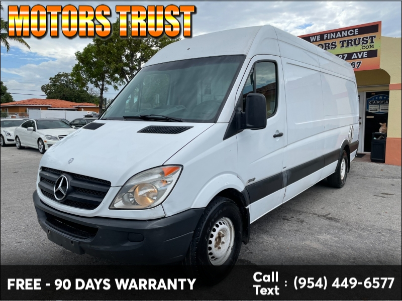 Mercedes-Benz Sprinter Cargo Vans 2012 price $14,699