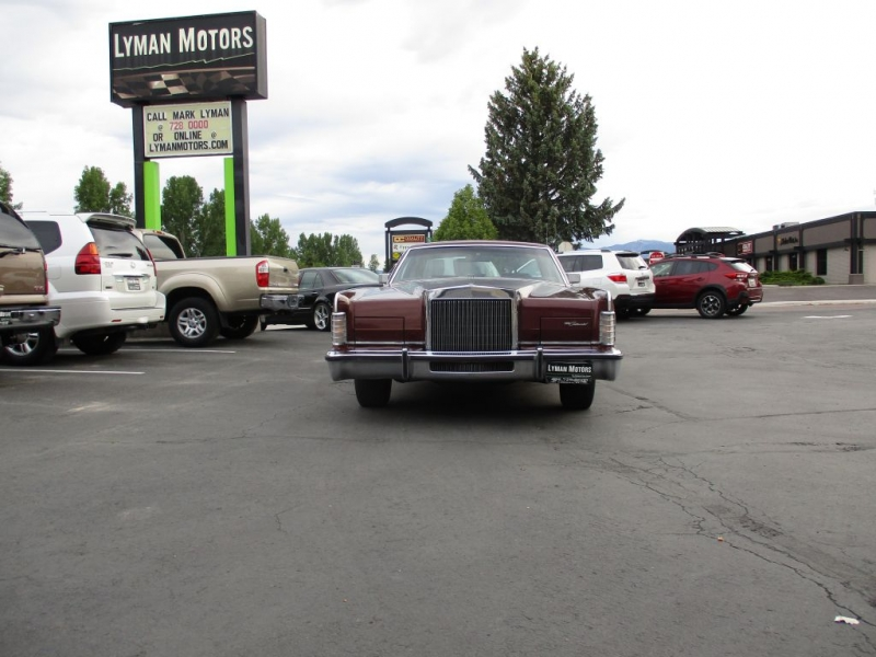 LINCOLN CONTINENTAL 1978 price Call for price