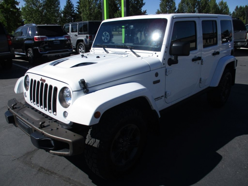 JEEP WRANGLER UNLIMI 2016 price Call for price