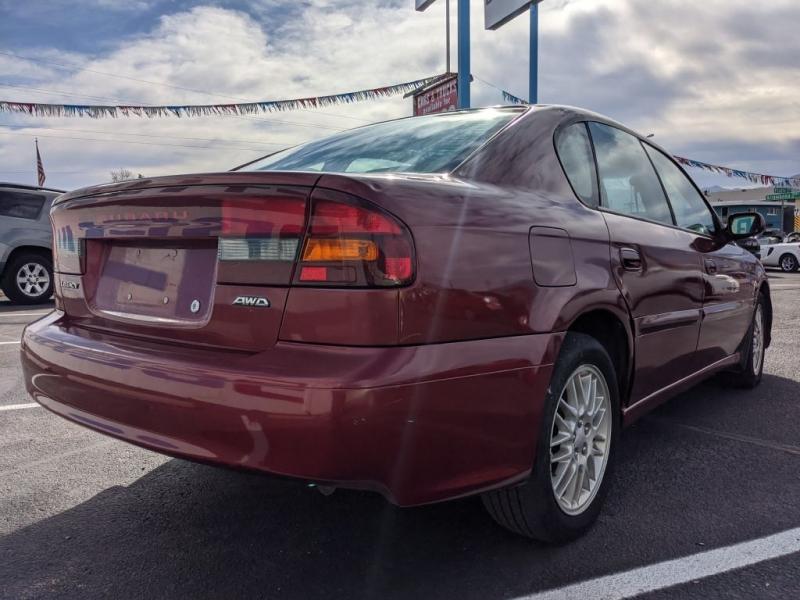 Subaru Legacy Sedan (Natl) 2004 price $2,950