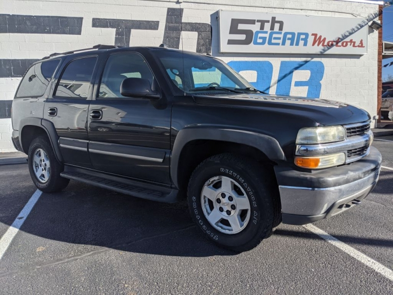 Chevrolet Tahoe 2004 price $4,950