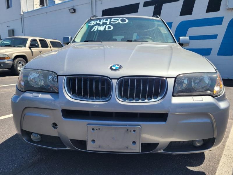 BMW X3 2006 price $4,450