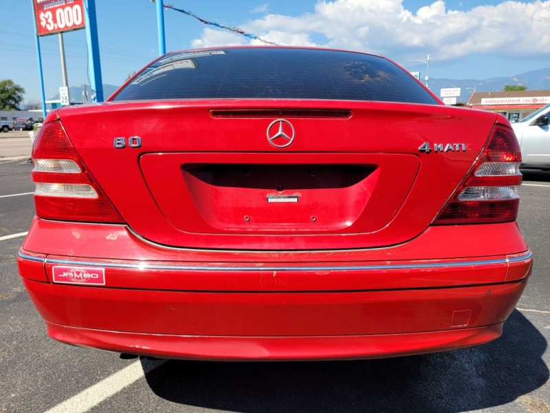 Mercedes-Benz C-Class 2007 price $4,450