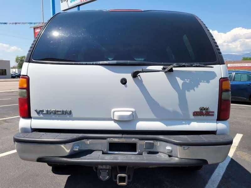 GMC Yukon 2001 price $4,450