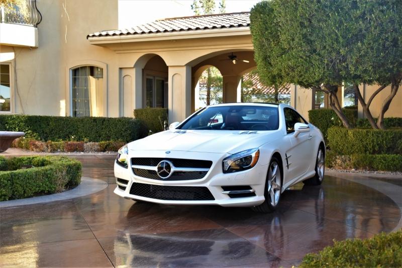 Mercedes-Benz SL-Class 2015 price $54,900