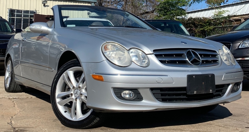 Mercedes-Benz CLK-Class 2007 price $4,900