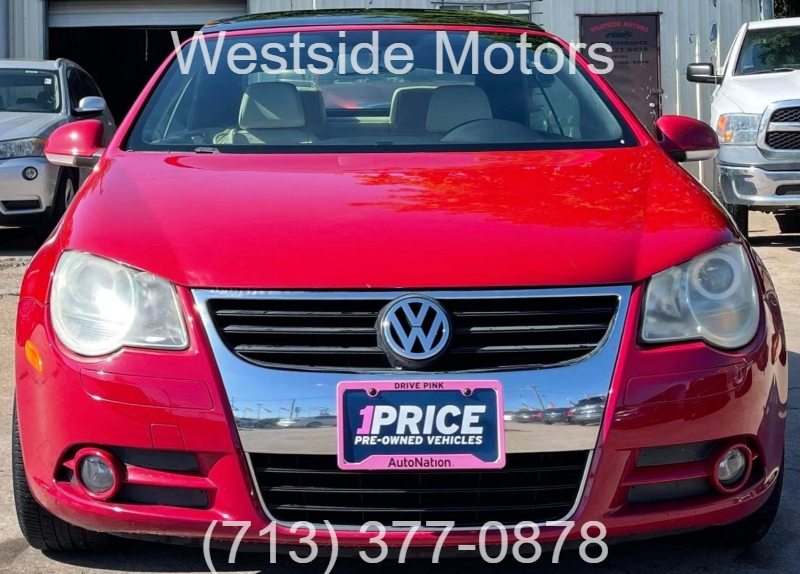 Volkswagen Eos 2008 price $5,990