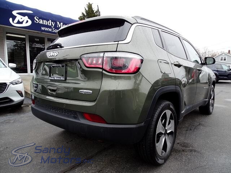 Jeep Compass 2018 price $17,900