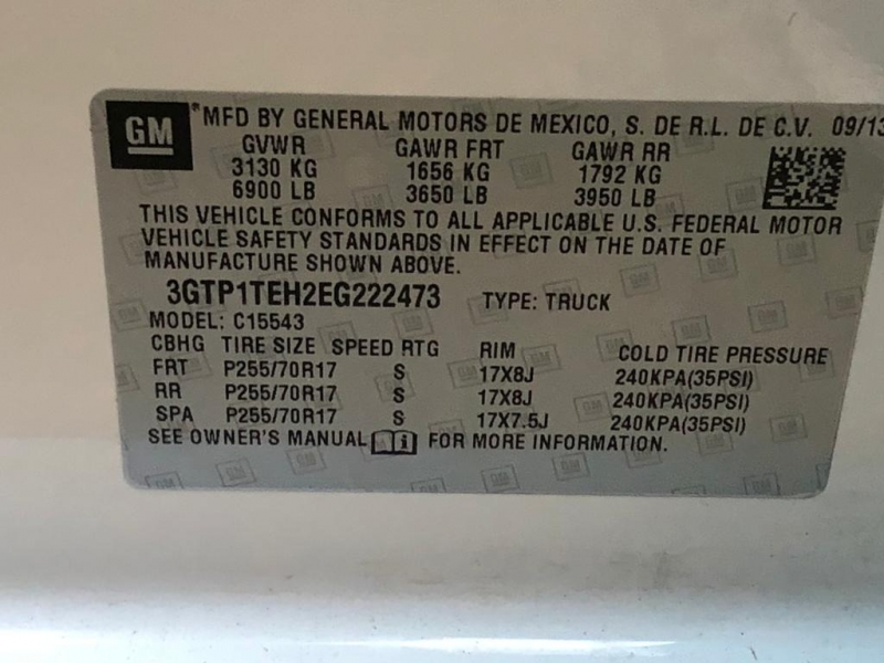 GMC Sierra 1500 2014 price $13,977