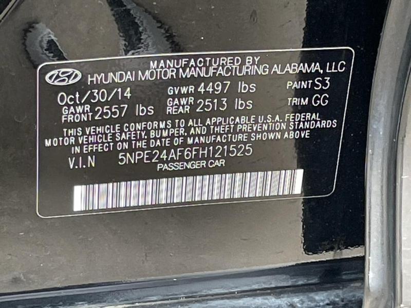 Hyundai Sonata 2015 price $9,977