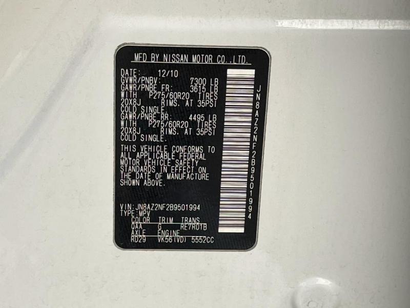 Infiniti QX56 2011 price $14,977