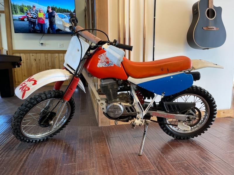 Honda XR80 1989 price $1,899