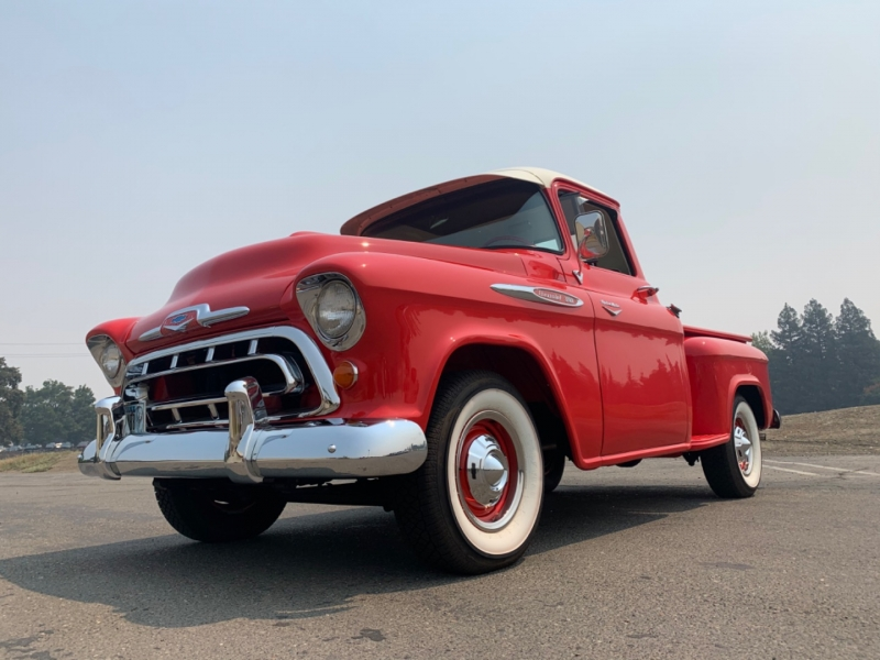 Chevrolet 3100 Step-Side Pickup Truck 1957 price $49,900