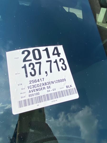 DODGE AVENGER 2014 price $6,590