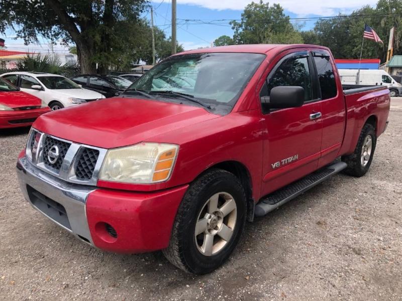 Nissan TITAN 2007 price $5,800