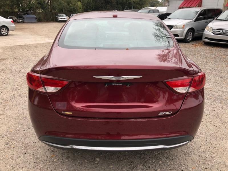 Chrysler 200 2015 price $6,350