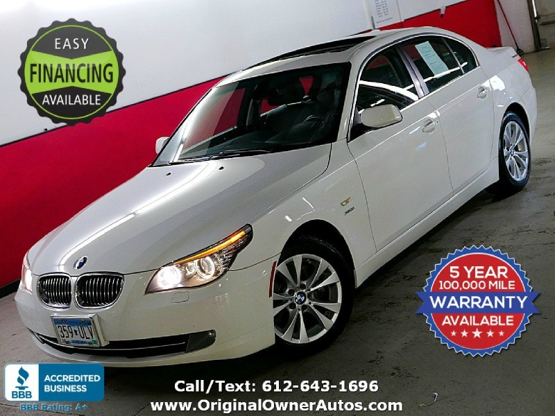 2009 Bmw 535i Xdrive Awd Twin Turbo 111k Miles Two Sets Of Rims Original Owner Autos Dealership In Eden Prairie
