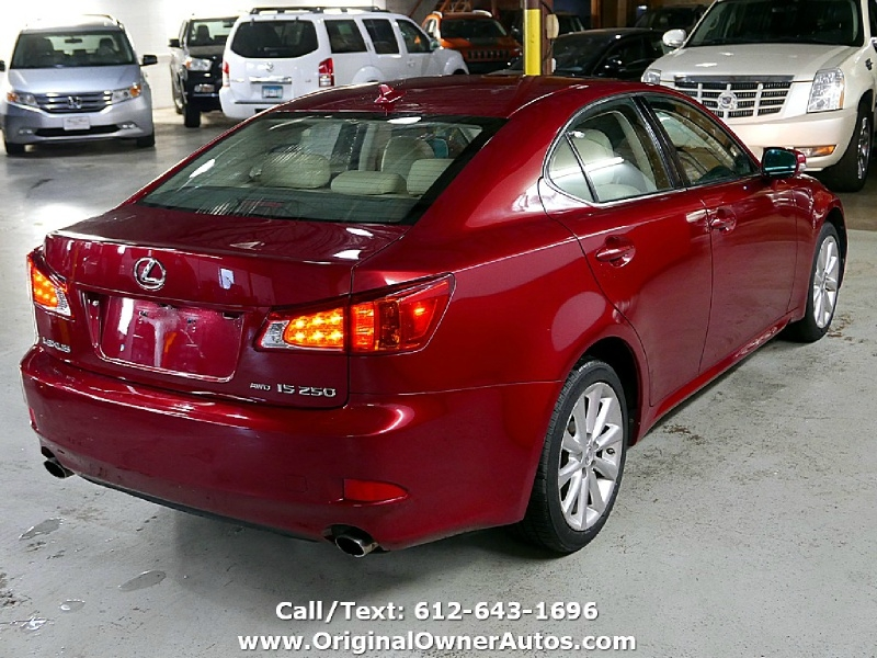 Lexus IS 250 2009 price $6,995