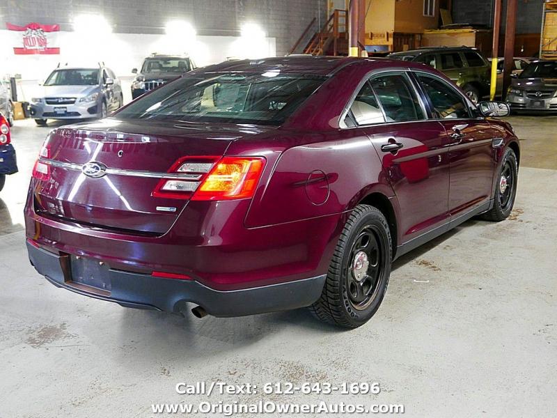 Ford Sedan Police Interceptor 2013 price $6,495