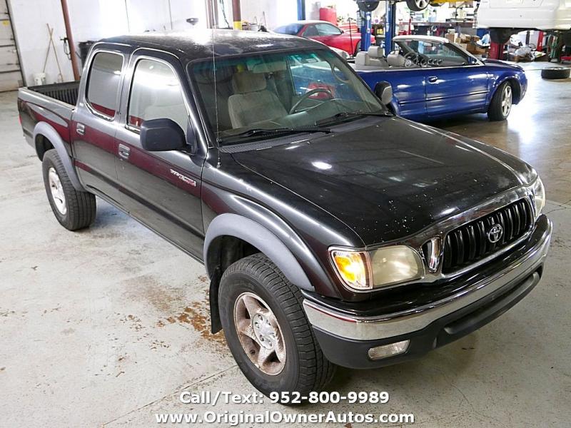 Toyota Tacoma 2002 price $5,495