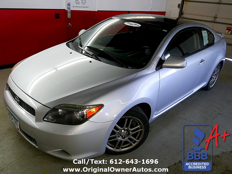 2007 Scion Tc Base 2 Owner 75k No Rust Sunroof Original Owner Autos Dealership In Eden Prairie
