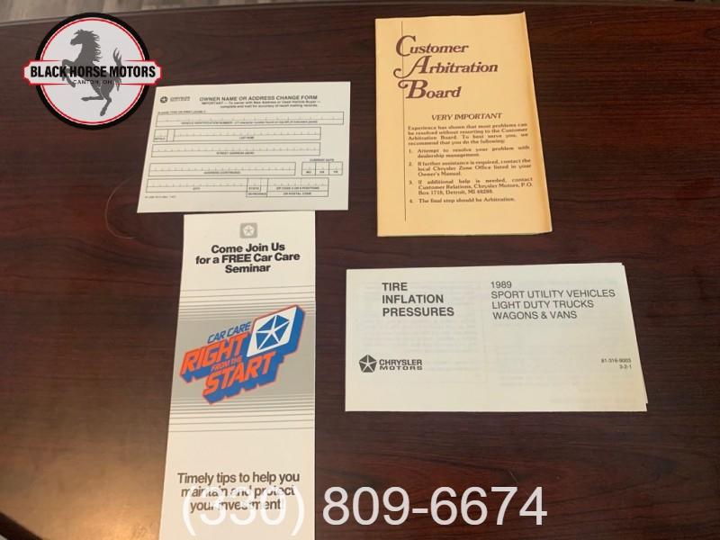 DODGE D-SERIES 1989 price $19,995