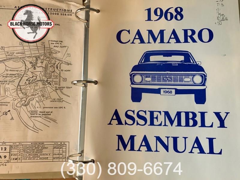 CHEVROLET CAMARO 1968 price $52,495