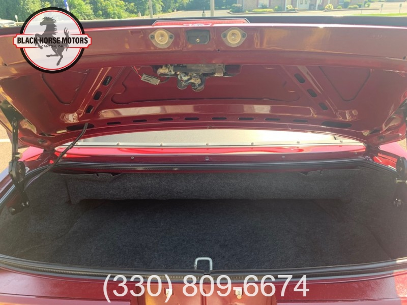 FORD MUSTANG 1989 price $21,995