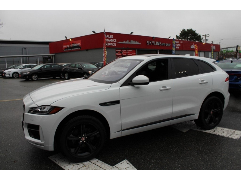 Jaguar F-PACE 2018 price $44,889