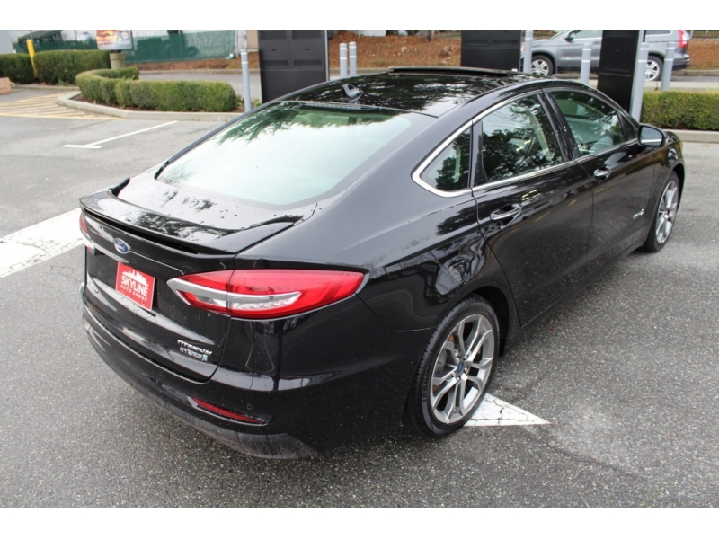 Ford Fusion Hybrid 2019 price $0