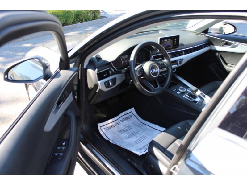 Audi A4 Sedan 2018 price $0