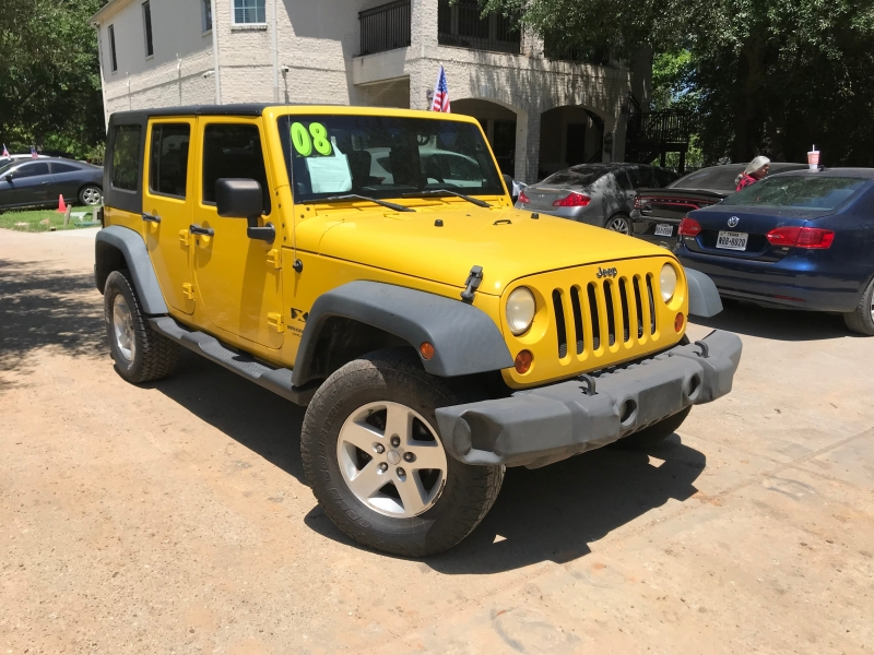 Jeep Wrangler 2008 price $3,500 Down