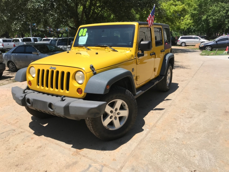 Jeep Wrangler 2008 price $3,500 Down