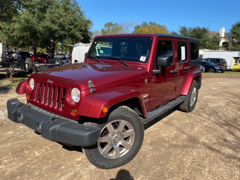 Jeep Wrangler Unlimited 2013 price $6,000 Down
