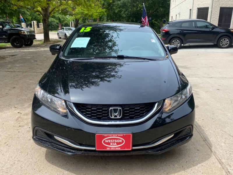Honda Civic Sedan 2015 price $0